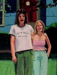 70's Suburban Couple